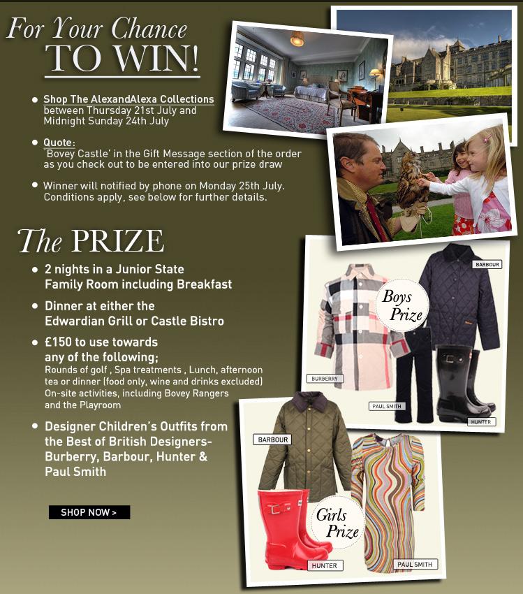Win luxury getaway from alexandalexa at bovey castle