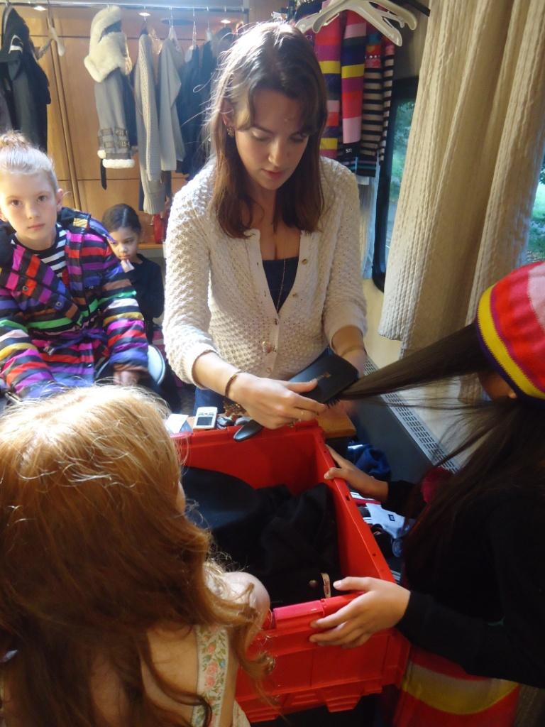 behind the scenes at kids fashion week